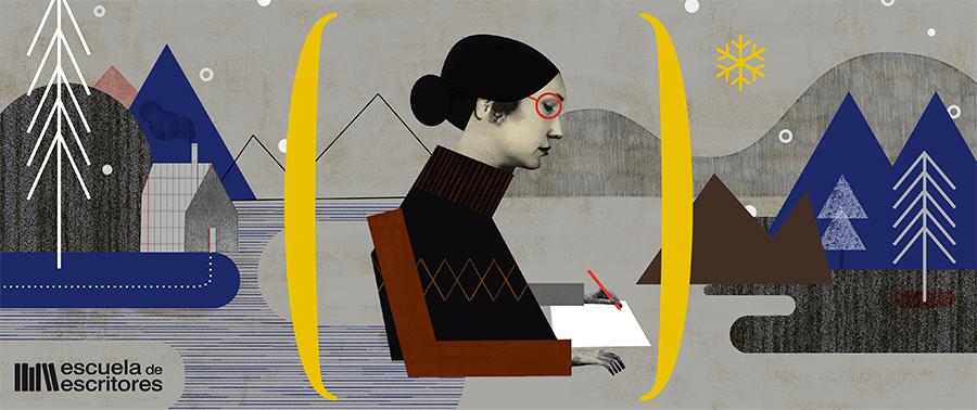 Ana Bustelo, Escuela de Escritores