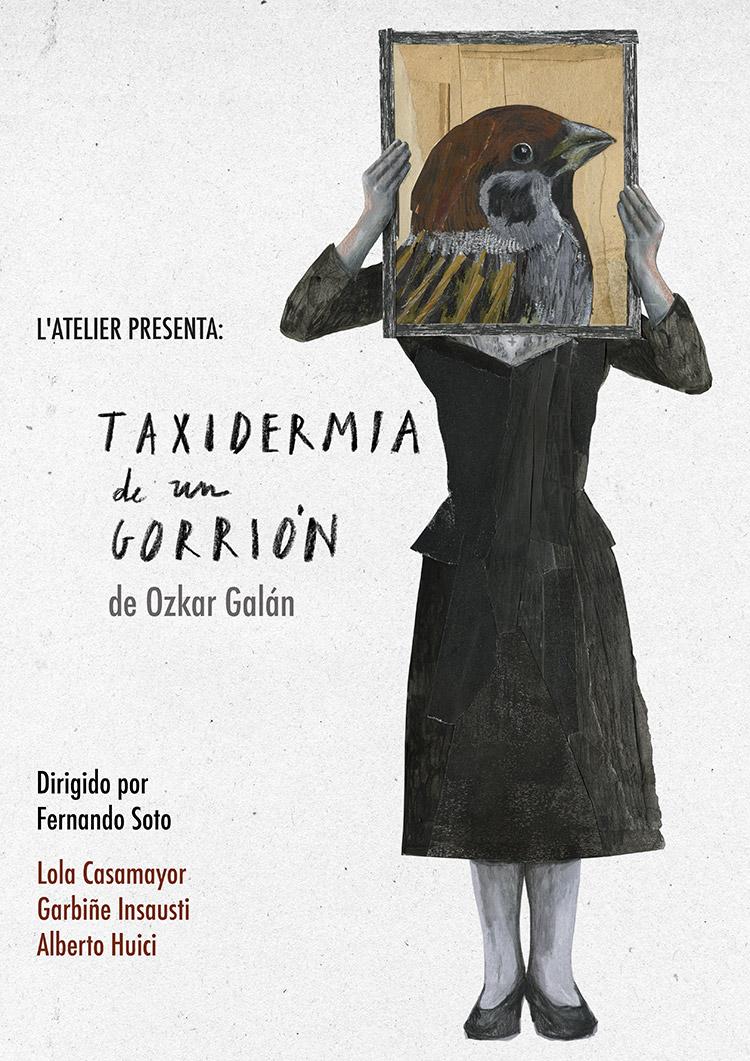 Ana Bustelo | Taxidermia de un Gorrión