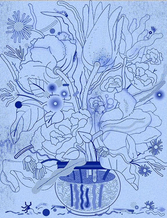 Vanitas. Detail | Ana Bustelo
